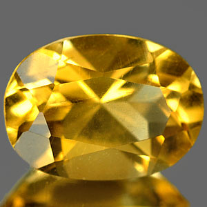 0.80 Ct. Conspicuous Clean Natural Yellow Citrine Gem