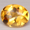 2.31 Ct. Good Luster Natural Oval Yellow CITRINE Gems