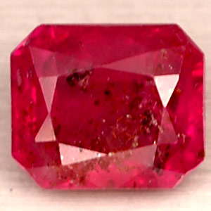 1.73 CT.  ENCHANTING NATURAL GEM RED PINK RUBY MADAGASCAR