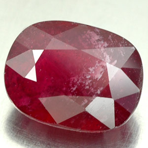 4.49 CT. CHARMING GEM NATURAL RED RUBY MADAGASCAR