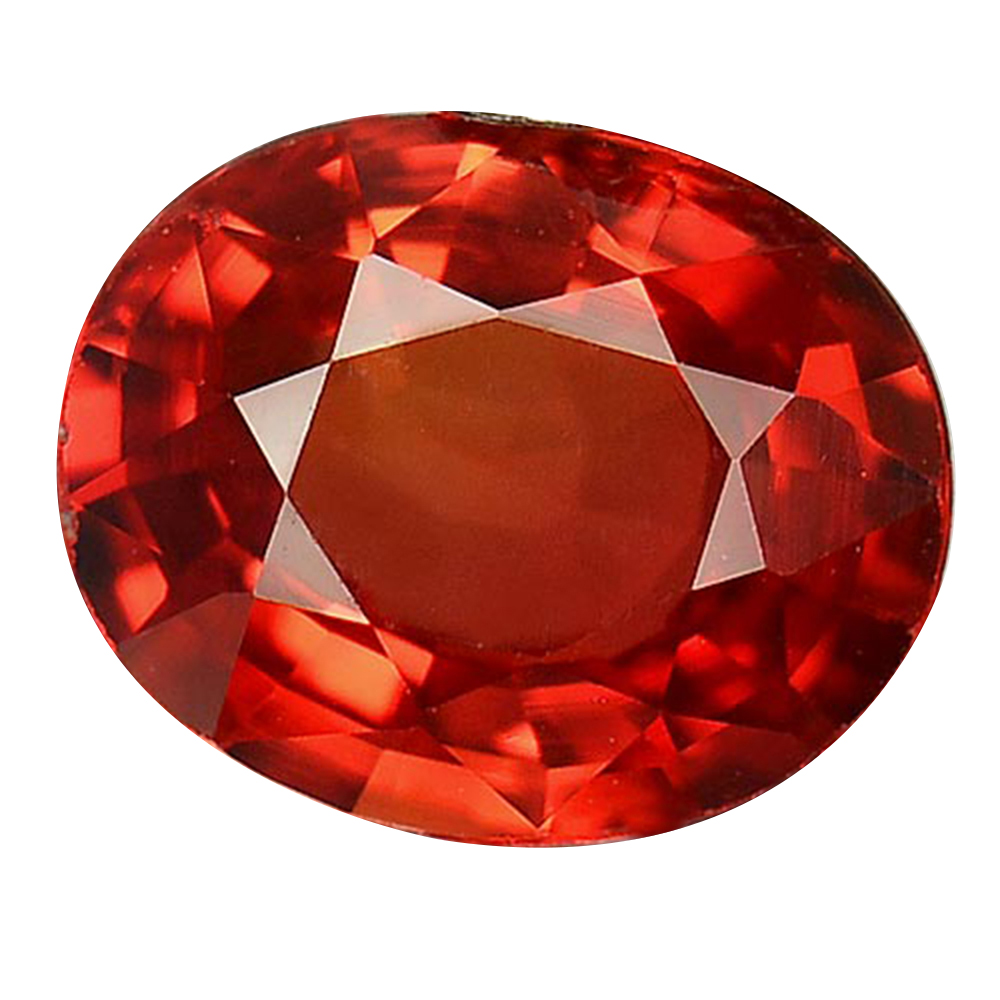 1.07 Ct. Oval Shape Clean Natural Red Songea Sapphire