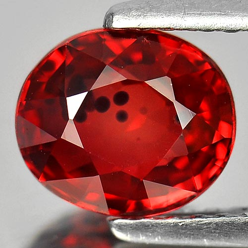 1.83 CT. CHARMING GEM OVAL RICH RED SONGEA SAPPHIRE
