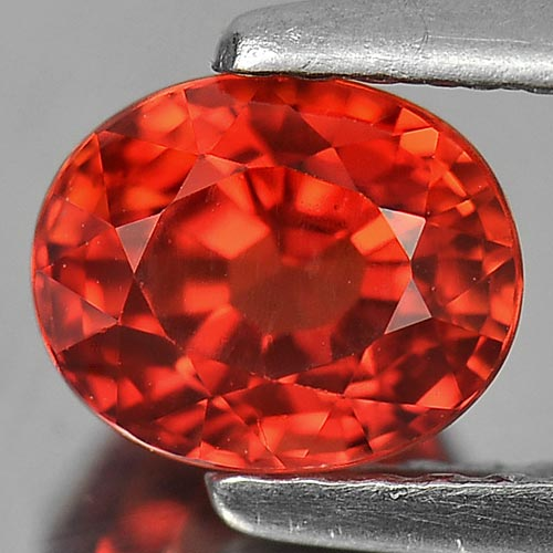 1.38 Ct. Stunning Clean Natural Top Orange Red SAPPHIRE