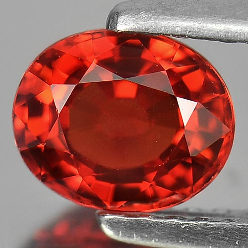 1.03 Ct. Clean Natural Red Songea SAPPHIRE Gemstone Oval Shape