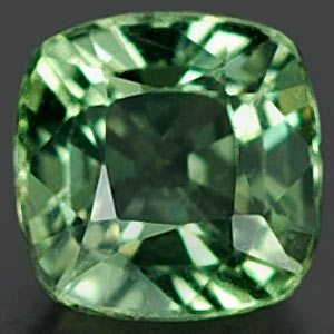 0.60 Ct. Spectacular Natural Green Sapphire Thailand
