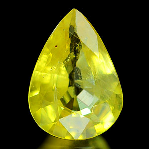 0.73 Ct. Magically Natural Yellow Sapphire Thailand Gem