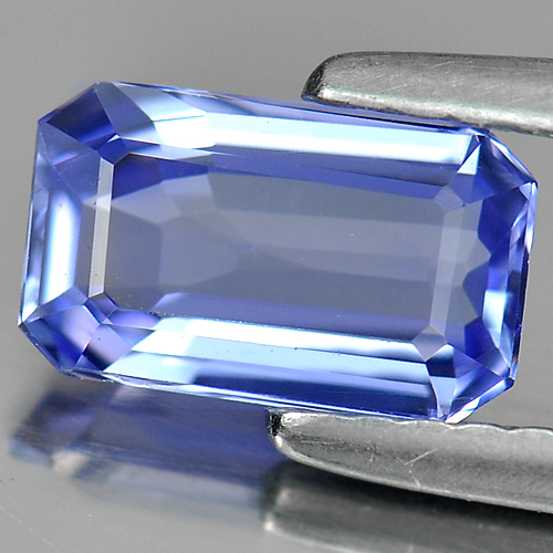 1.06 ct. Attractive Clean Natural Violet Blue TANZANITE
