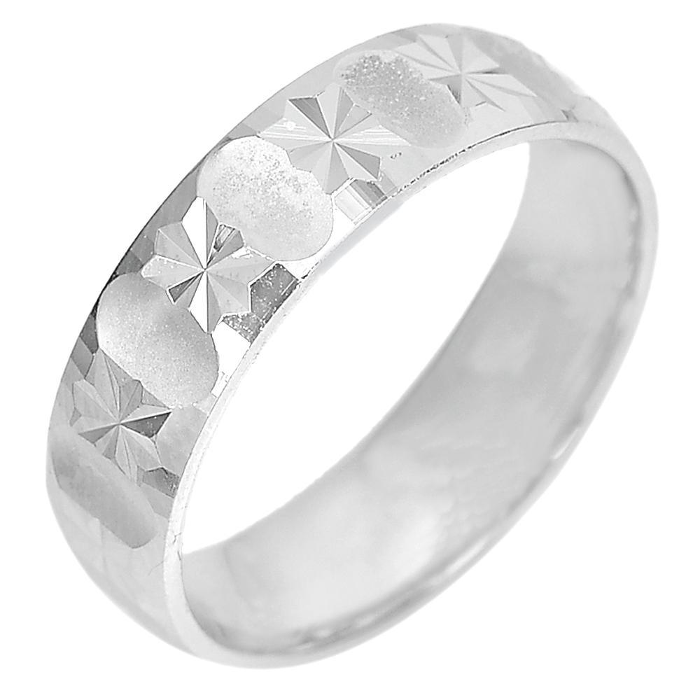 4.61 Grams. Design Beautiful Real 925 Sterling Silver Fine Jewelry Ring Size 8