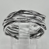 1 Pc. / $ 9.29 Wholesale Good Natural 925 Sterling Silver Jewelry Ring Size 8