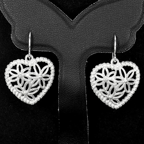 1 Pc. / $ 12.69 Wholesale New Design Natural 925 Sterling Silver Earrings