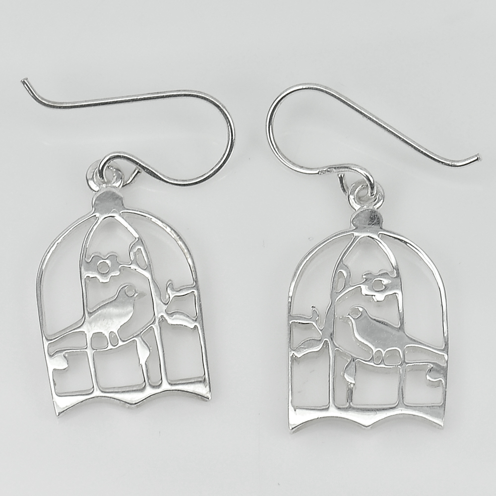 1 Pc. / $ 13.42 Wholesale 925 Sterling Silver Jewelry Earrings