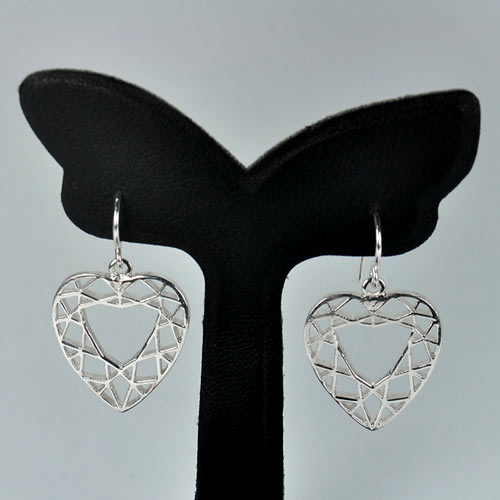 1 Pc. / $ 13.56 Wholesale 925 Sterling Silver Jewelry Earrings