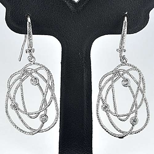 1 Pc. / $ 8.08 Wholesale Beauty 70 Sterling Silver Jewelry Earrings