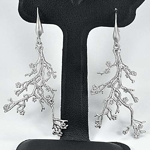 1 Pc. / $ 7.64 Wholesale Lovely 70 Sterling Silver Jewelry Earrings