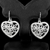 1 Pc. / $ 12.59 Wholesale Alluring Natural 925 Sterling Silver Jewelry Earrings