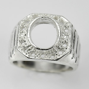Wholesale 5 Pcs / $100.70 Semi Mount Sterling Silver 925 Setting Ring