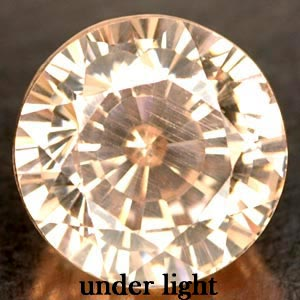 5.23 CT. BEAUTIFUL IF CREATED GEM COLOR CHANGE