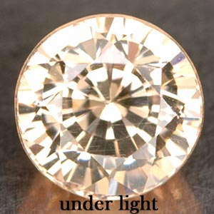 3.96 CT. BEAUTIFUL IF CREATED GEM COLOR CHANGE