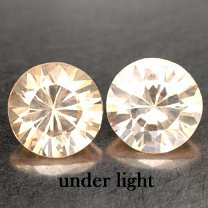 4.73 CT. 2 PCS. MATCHING IF CREATED GEM COLOR CHANGE DIAMOND CUT