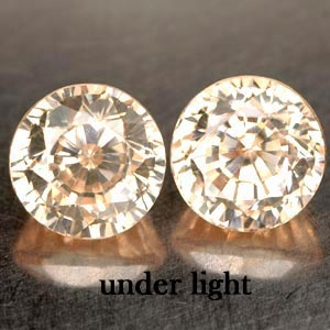 5.43 CT. 2 PCS. MATCHING IF CREATED GEM COLOR CHANGE