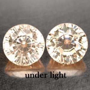6.01 CT. 2 PCS. MATCHING IF CREATED GEM COLOR CHANGE