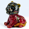1175.00 Ct. Good Color Lion Figure Mold Natural Ruby Sapphire 3 x 2.8 x 2 Inch