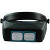 VISOR Head Optical Glass Binocular Magnifier Loupe