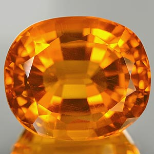 32.14 Ct. Clean Oval Shape Quartz Citrine Color Brazil