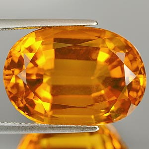 23.77 Ct. Attractive Clean Quartz Citrine Color Brazil