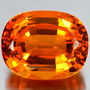 27.95 Ct. Scintillate Clean Orange Yellow Citrine Gem