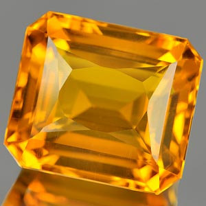 28.12 Ct. Incredible Clean Quartz Citrine Color Brazil
