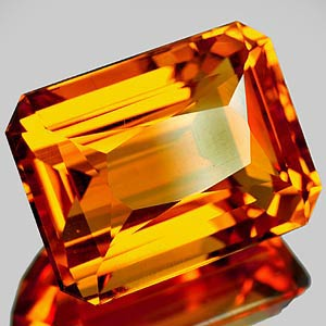 30.42 Ct. Impressive Clean Quartz Citrine Color Brazil