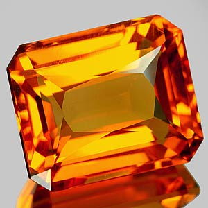25.17 Ct. Fabulous Clean Quartz Citrine Color Brazil
