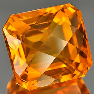 30.53 Ct. Megically Clean Quartz Citrine Color Brazil