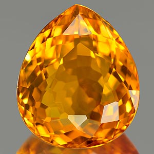 20.99 Ct. Stunning Clean Quartz Citrine Color Brazil