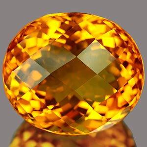 24.51 Ct. Gorgeous Clean Quartz Citrine Color Brazil