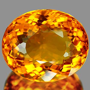 27.13 Ct. Ravishing Clean Quartz Citrine Color Brazil