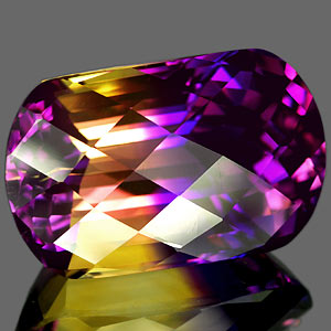 28.50 Ct. Glowing Clean Hydrothermal Bi Color Ametrine