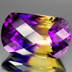 24.22 Ct. Charming Clean Bi Color Ametrine Gem