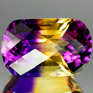 25.27 Ct. Glowing Clean Hydrothermal Bi Color Ametrine