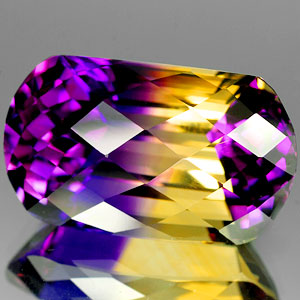 23.12 Ct Luxurious Clean Hydrothermal Bi Color Ametrine