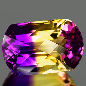 24.83 Ct. Dazzling Clean Bi Color Ametrine Unheated Gem
