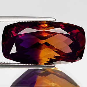 32.23 Ct. Dazzle Clean Bi Color Ametrine Unheated