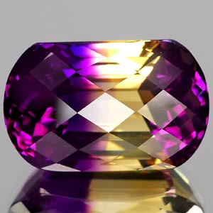 25.60 Ct. Graceful Clean Hydrothermal Bi Color Ametrine