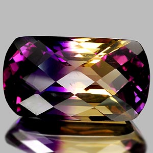 23.51 Ct. Graceful Clean Hydrothermal Bi Color Ametrine