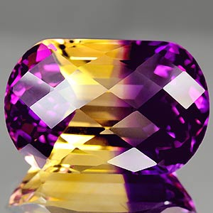 31.08 Ct. Shinning Clean Hydrothermal Bi Color Ametrine