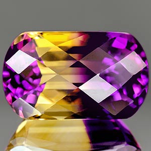 29.27 Ct Captivate Clean Hydrothermal Bi Color Ametrine