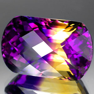 32.25 Ct. Graceful Clean Hydrothermal Bi Color Ametrine