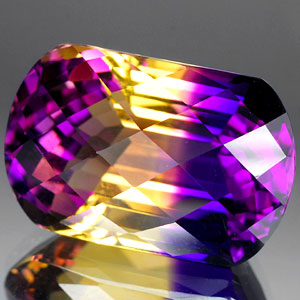 31.46 Ct. Shinning Clean Hydrothermal Bi Color Ametrine