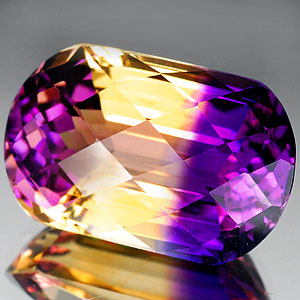 31.41 Ct. Shinning Clean Hydrothermal Bi Color Ametrine